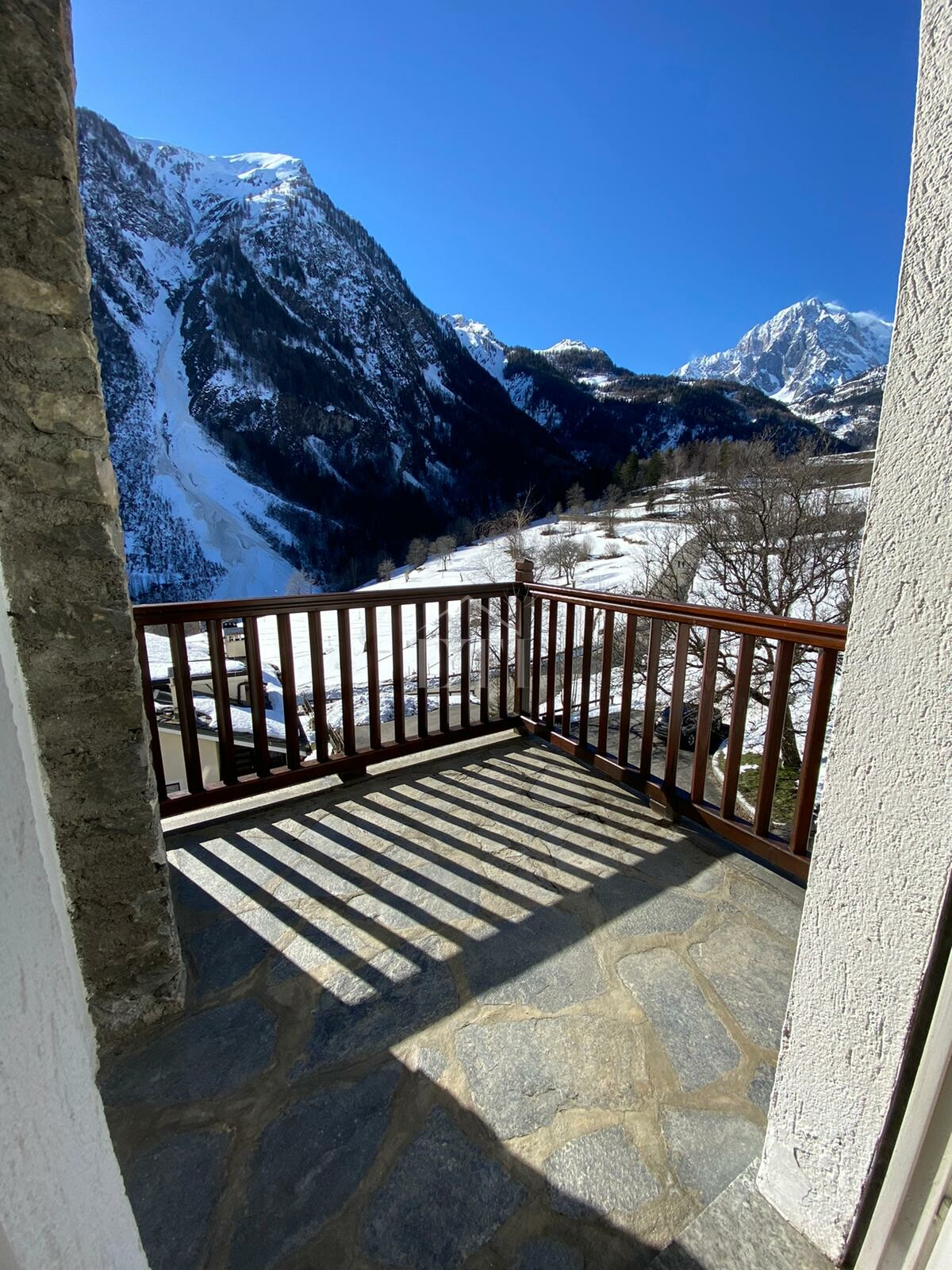 Bilocale vista Monte Bianco